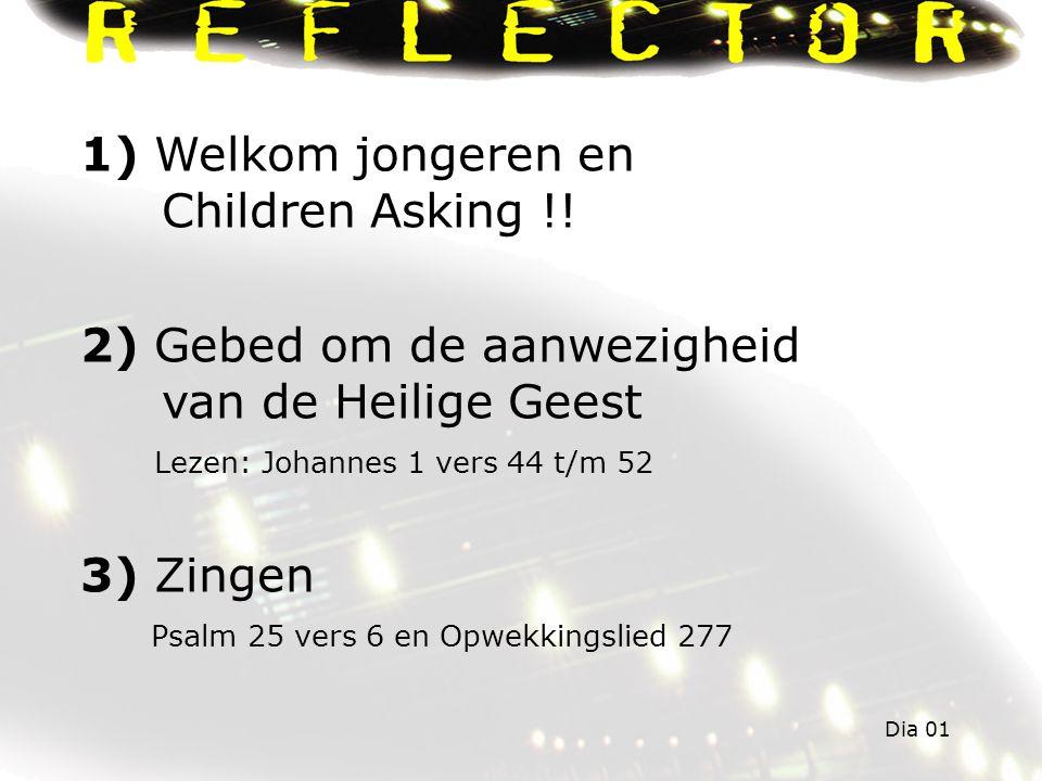 1) Welkom jongeren en Children Asking !.