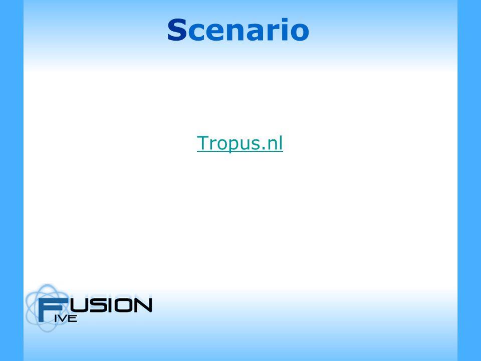 Scenario Tropus.nl