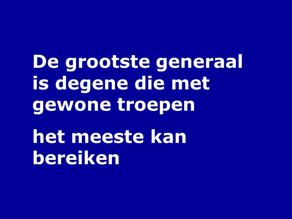 Iedereen gelijk betekent niet iedereen hetzelfde (Christine van Broeckhoven, 1953-)