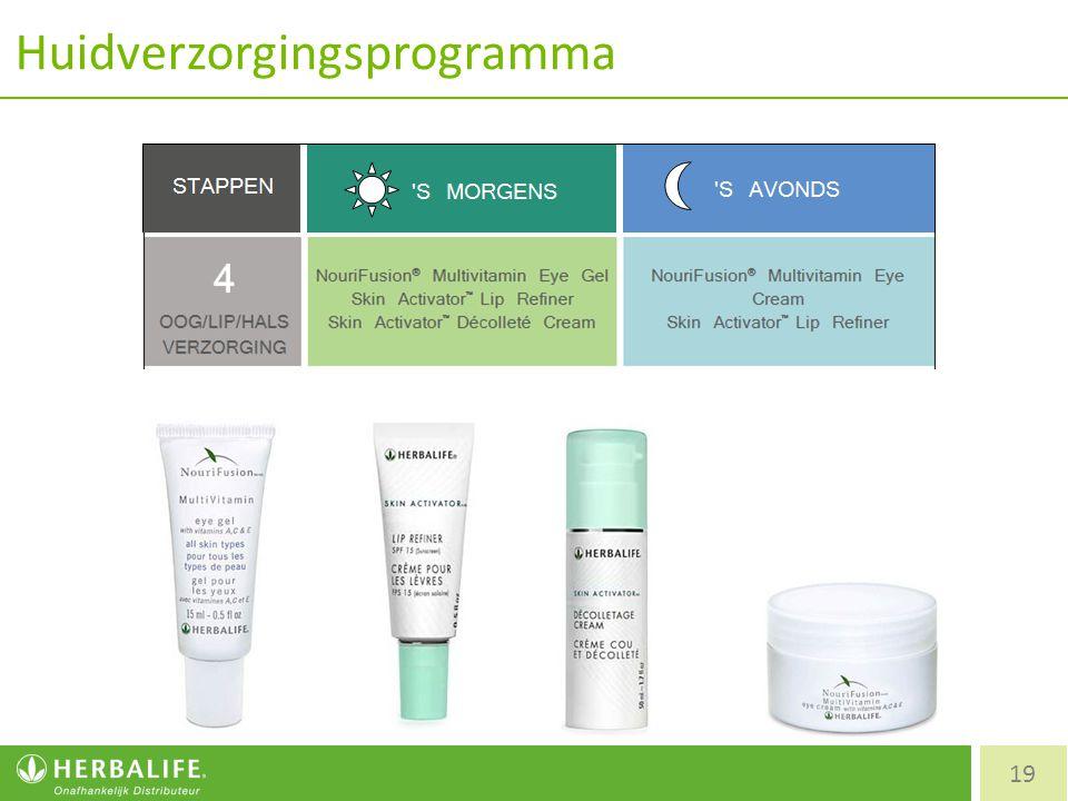Huidverzorgingsprogramma 19