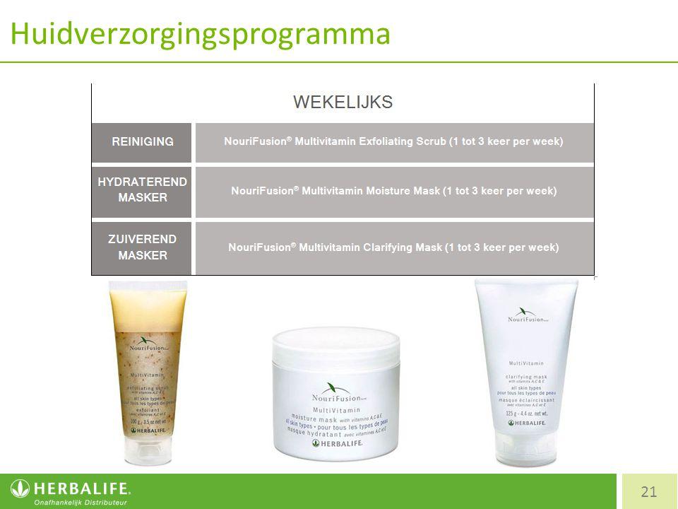 Huidverzorgingsprogramma 21