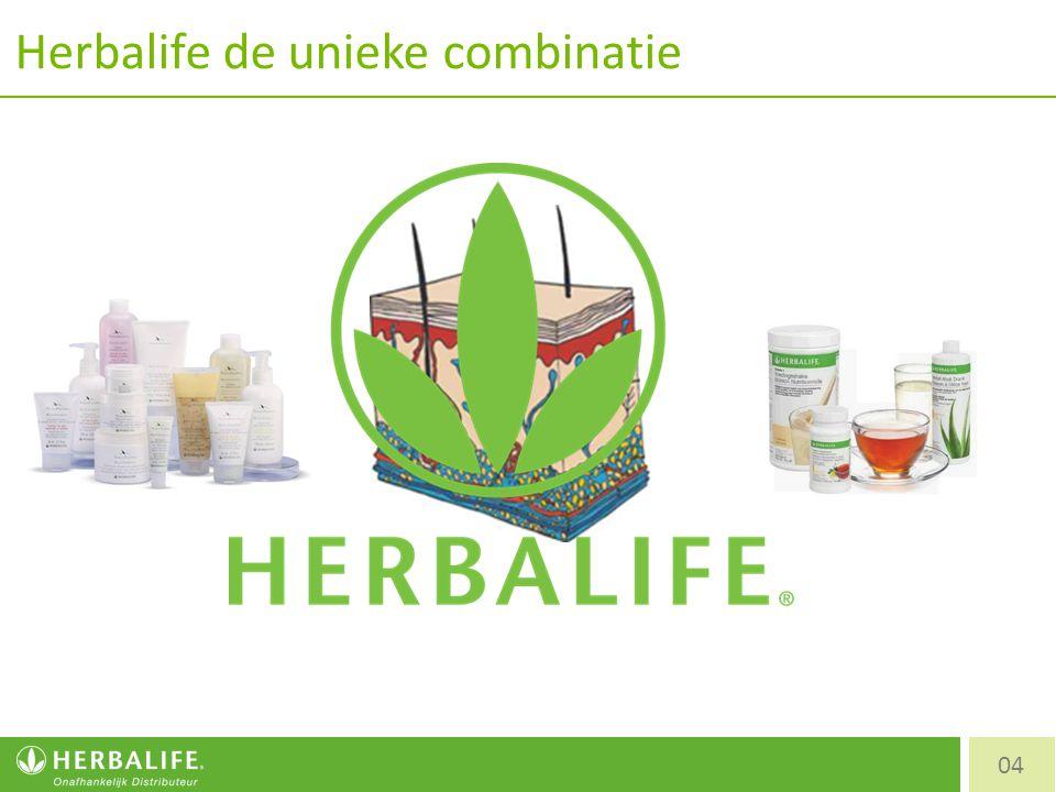 Herbalife de unieke combinatie 04