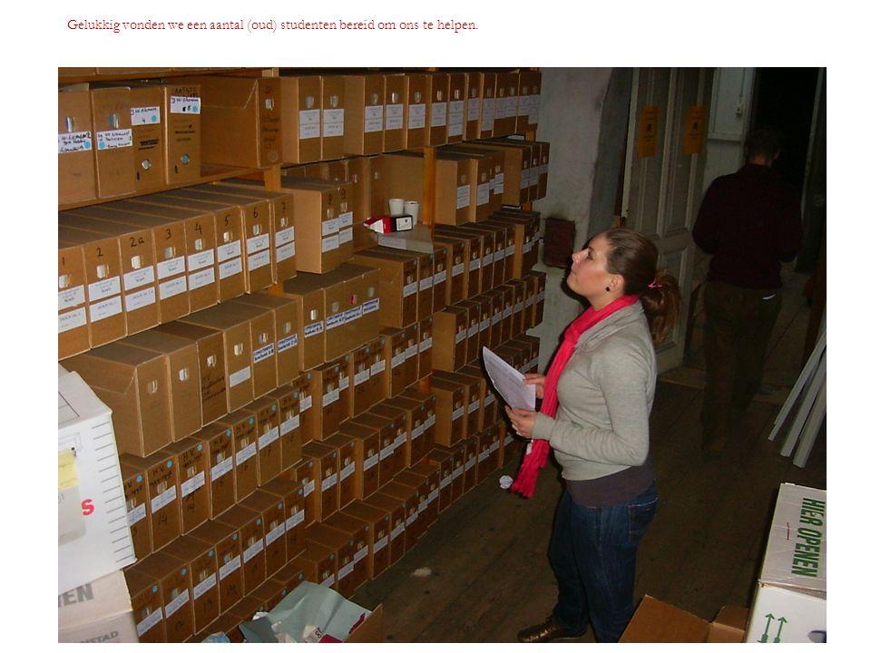 Op werkbezoek in Oisterwijk bij Archiefbureau Voorzee, tegenwoordig Allbidigit.