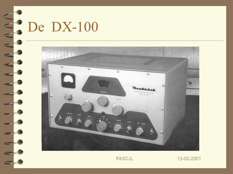12-02-2001PA3CJL De succes series. 4 Na de AT-1 volgt een hele reeks 'hits'. 4 De DX-100 zender is de volgende kas- kraker. 4 Hierna volgt de 'Indiane