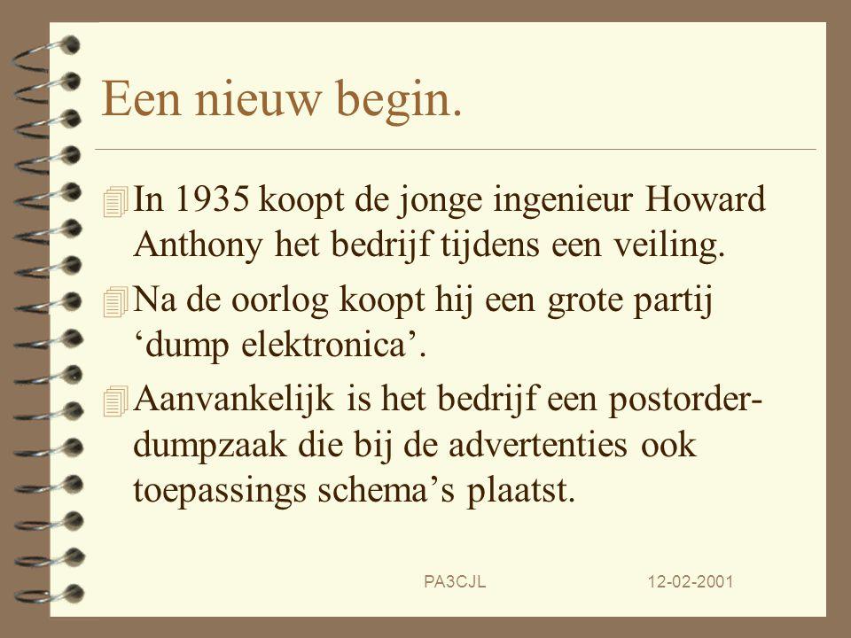 12-02-2001PA3CJL Het begin. 4 Edward Heath begint rond de eeuw- wisseling met de 'Heath Aeroplane Company'. 4 In 1926 komt er een bouwpakket van een v
