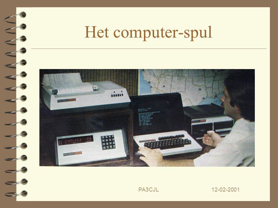 12-02-2001PA3CJL Het einde komt in zicht. 4 Heathkit gaat digitaal met de H-8 en H-16 computers, oude kassuccessen herleven even. 4 Helaas gaat het op