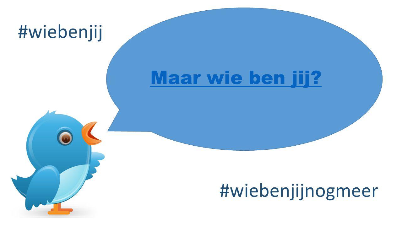 Maar wie ben jij? #wiebenjij #wiebenjijnogmeer