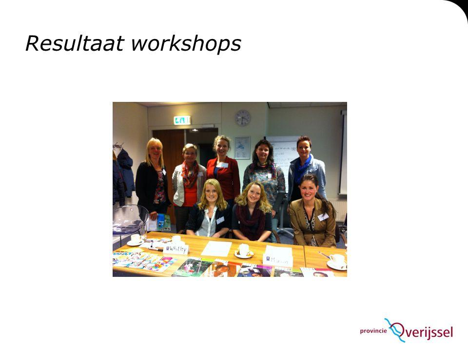 Resultaat workshops