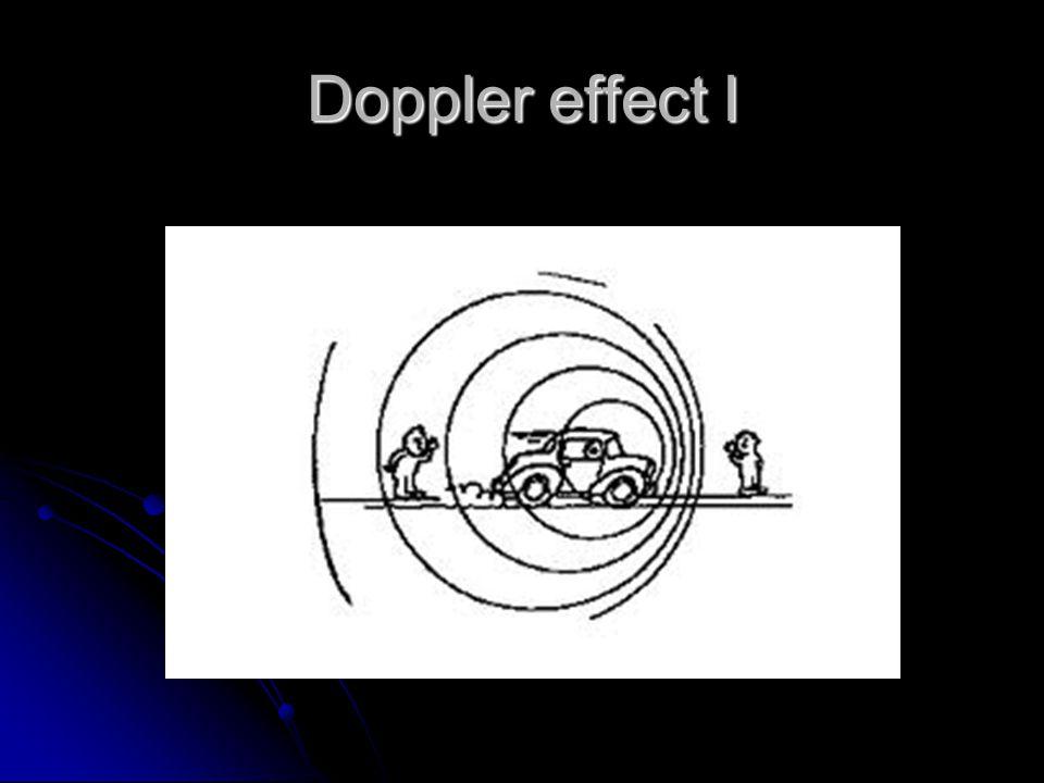 Doppler effect I