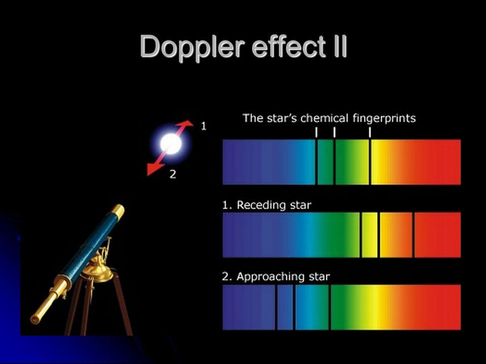 Doppler effect II