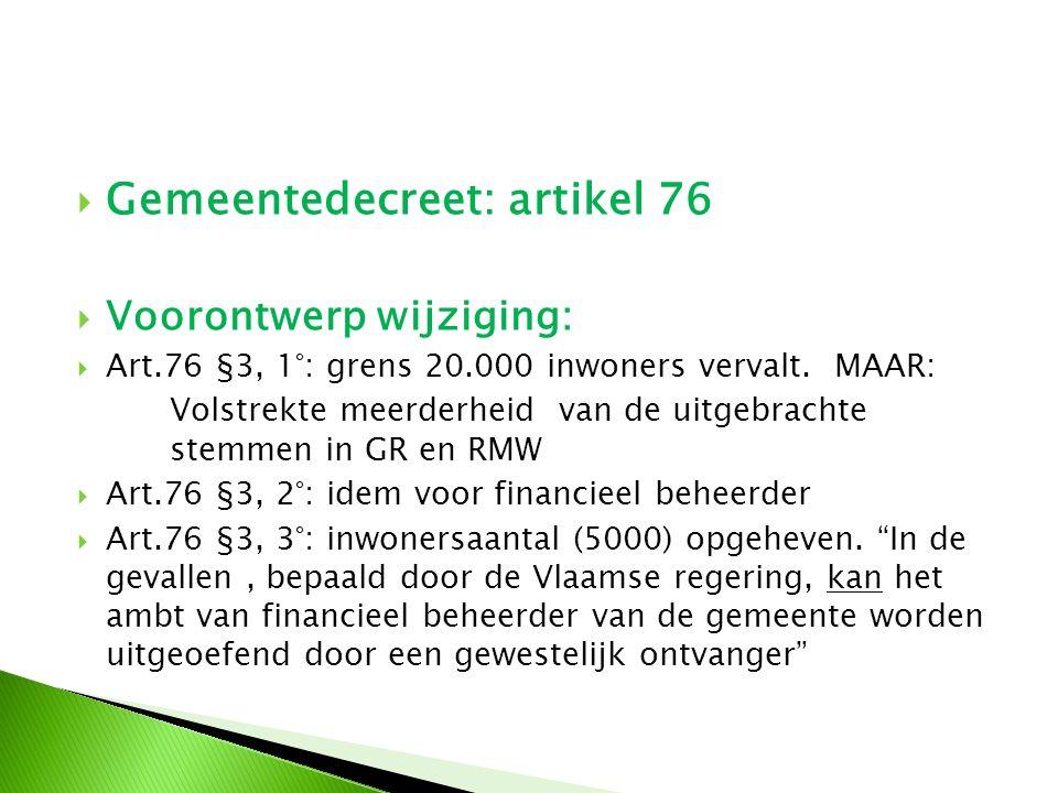 Andere wijzigingen OCMW decreet (voorontwerp)  Gedetailleerde toelichting op AV 16 december 2011 door  Pieter Van Der Stappen VVSG