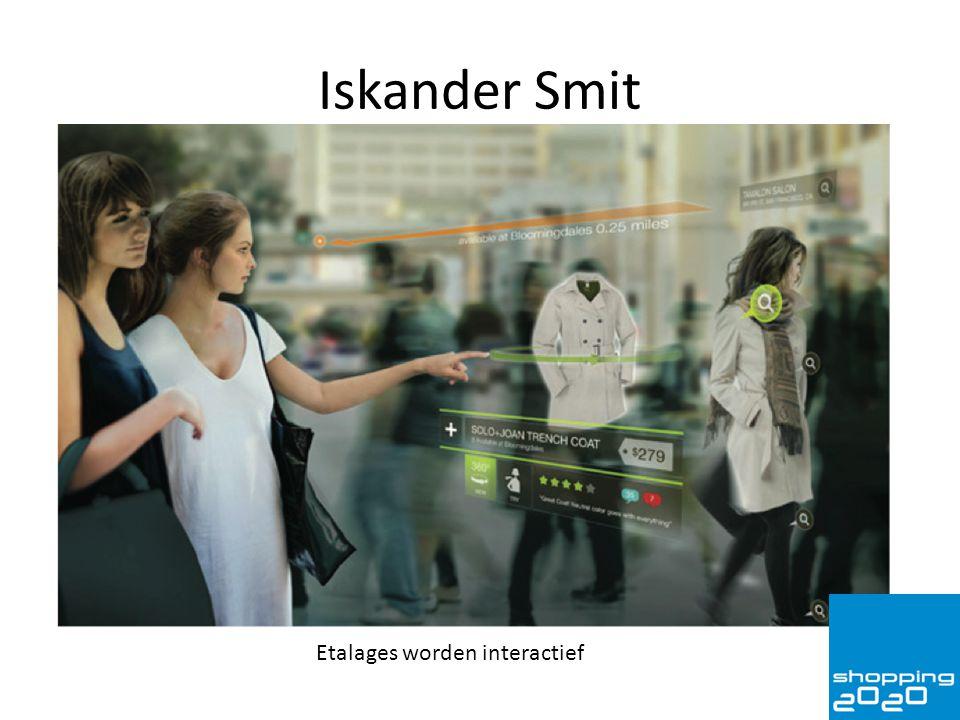 Iskander Smit Etalages worden interactief
