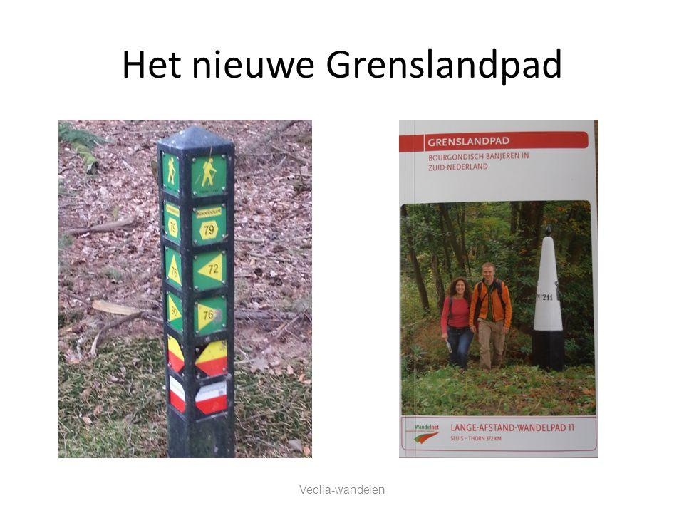 Het nieuwe Grenslandpad Veolia-wandelen