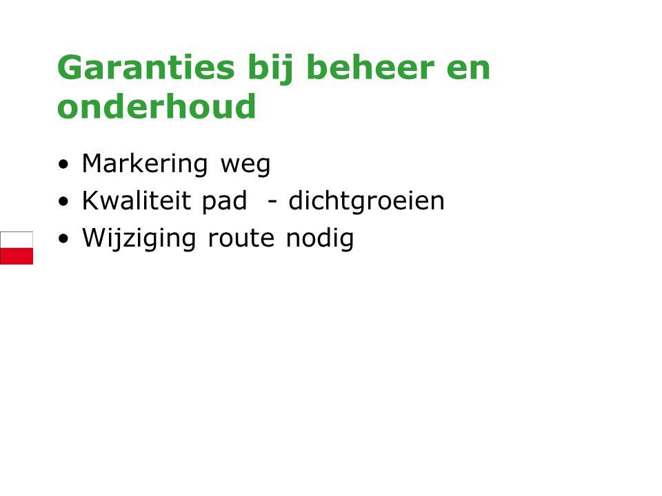 Ook synchronisatie lokale en regionale routestelsels Grotere flexibiliteit voor wandelaar Sanering markering: meer duidelijkheid Garanties voor beheer en onderhoud Voorbeelden: – Kempische Landgoederen – BMF – ommetjes – Dorpsroutes