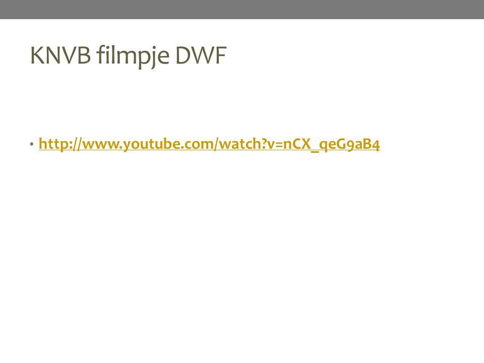 KNVB filmpje DWF http://www.youtube.com/watch?v=nCX_qeG9aB4