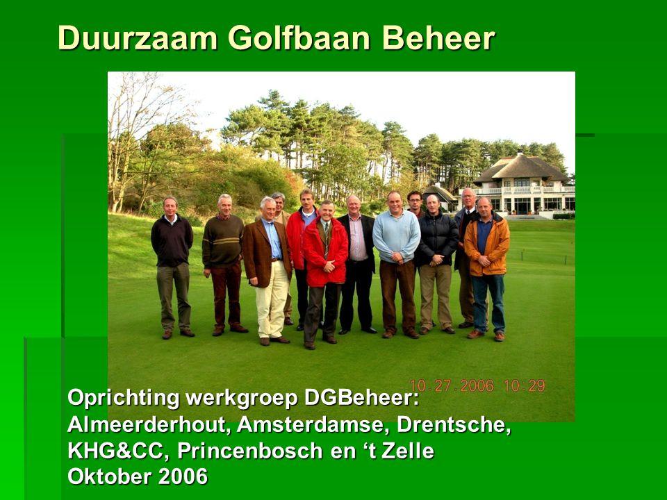 Wat nog te doen:  Organische stof op A en B verder verlagen  Verbeteren grasbestand  Verbeteren bodemleven  Verbeteren van ziekteresistentie  Verbeteren speeloppervlak Golfbaan Princenbosch onderhoud Presentatie 2008