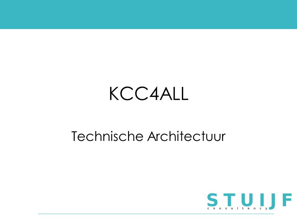 KCC4ALL Technische Architectuur