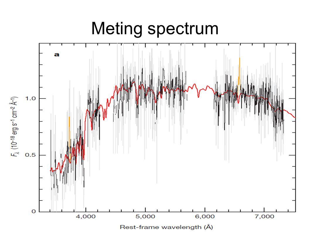 Meting spectrum