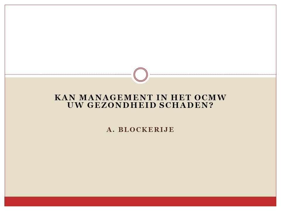 Taken en opdrachten Hoeveel taken legt het OCMW-decreet mij op.