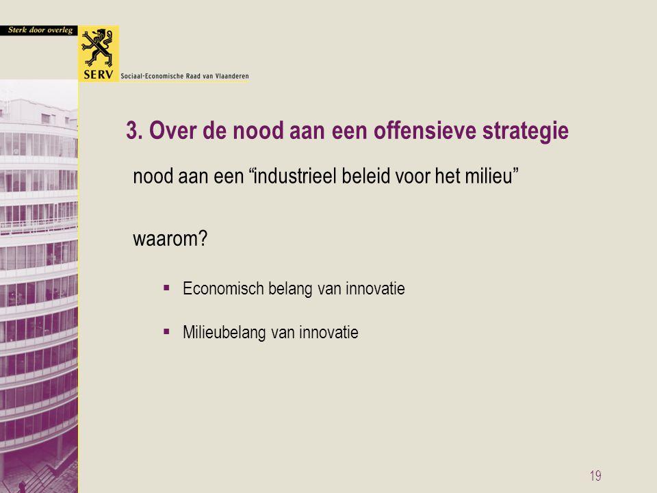 19 3. Over de nood aan een offensieve strategie waarom.