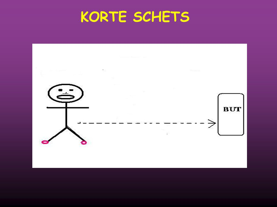 KORTE SCHETS