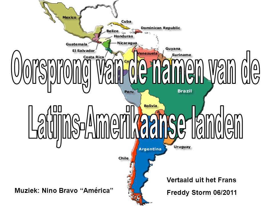Muziek: Nino Bravo América Vertaald uit het Frans Freddy Storm 06/2011