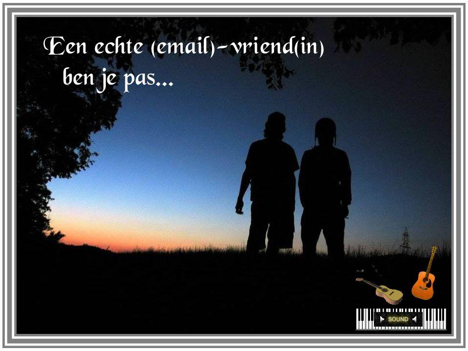 Als je kennis, kunde en vriendschap hebt verspreid, maakte je jezelf bekend wijd en zijd, maar vriendschap = bovenal jezelf geven...