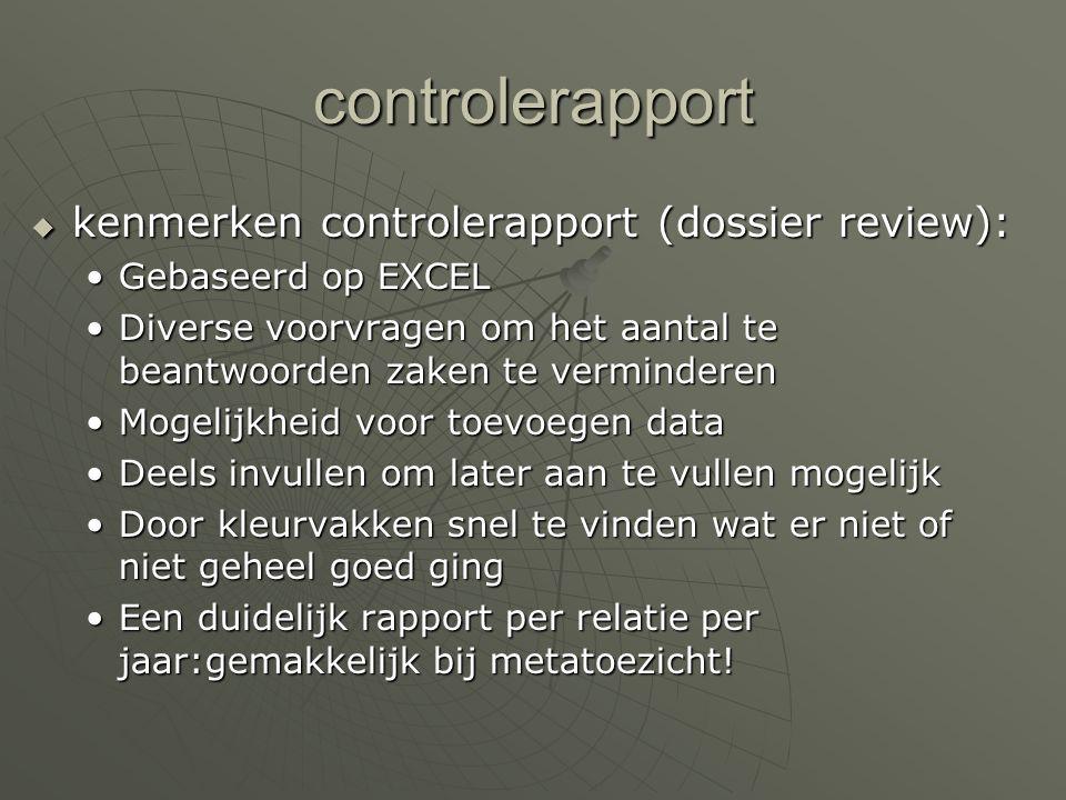 Controle Samenstellen is 1, controle is 2: Hoe goed je het ook doet: zelf samenstellen en controleren is vrijwel onmogelijk Een aparte controle dus, m