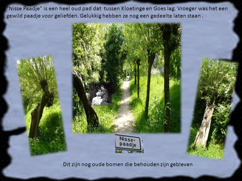 Nisse Paadje is een heel oud pad dat tussen Kloetinge en Goes lag.