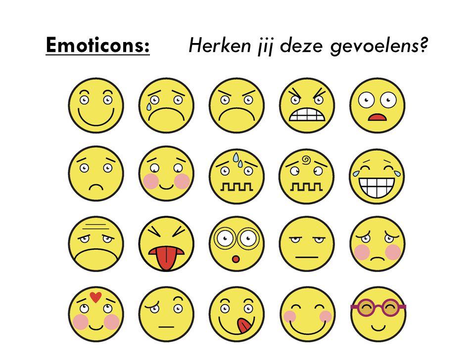 Emoticons:Herken jij deze gevoelens?