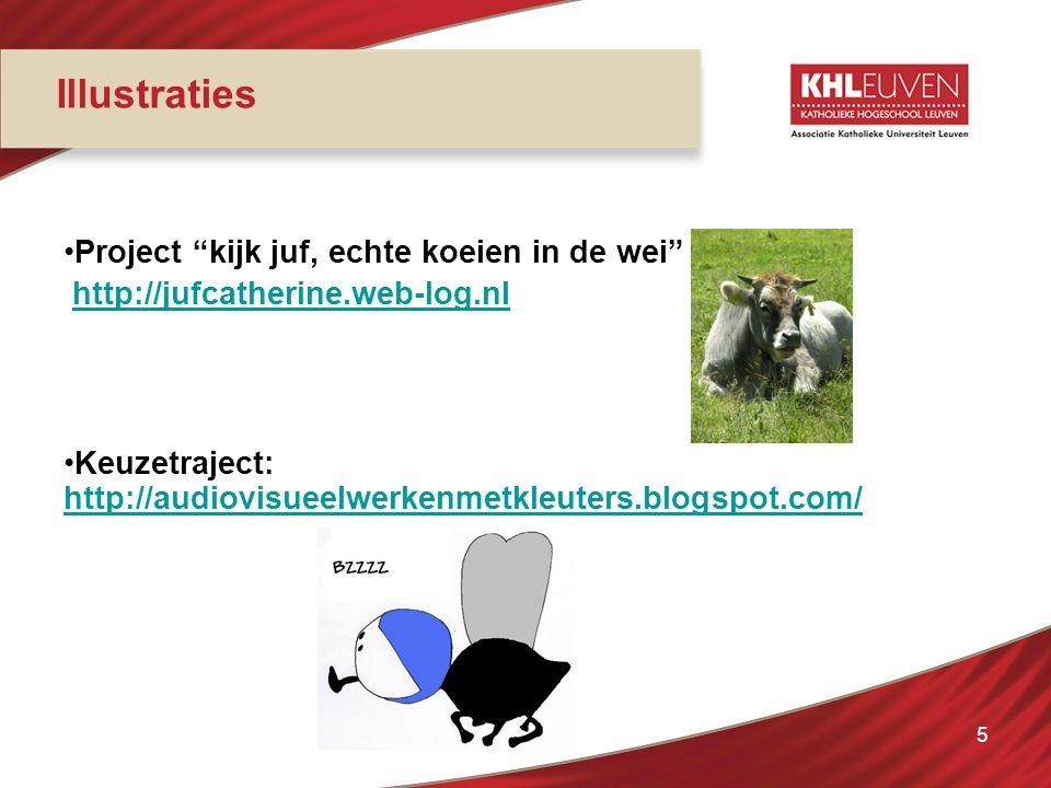 "Project ""kijk juf, echte koeien in de wei"" http://jufcatherine.web-log.nl Keuzetraject: http://audiovisueelwerkenmetkleuters.blogspot.com/ http://audi"
