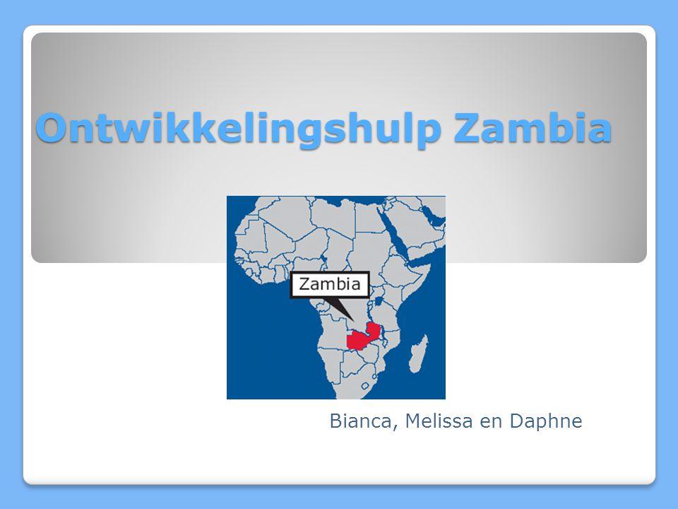 De Provincie Hoog aantal inwoners per arts Provincie is 1/5 deel van Zambia Slechte infrastructuur Veel HIV