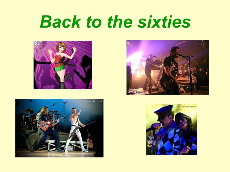 Doelgroep Back to the sixties. 1e jaar school studenten