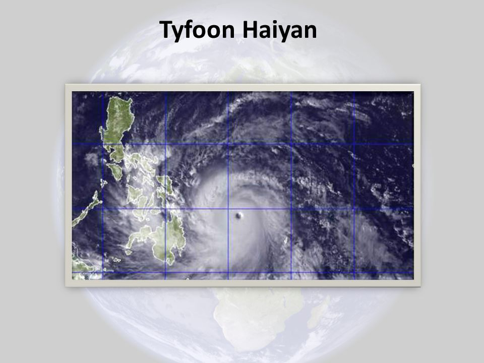 Tyfoon Haiyan