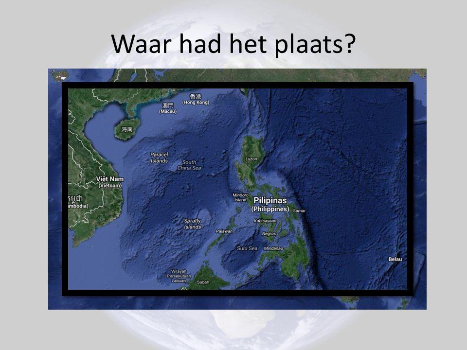 De Filipijnen.