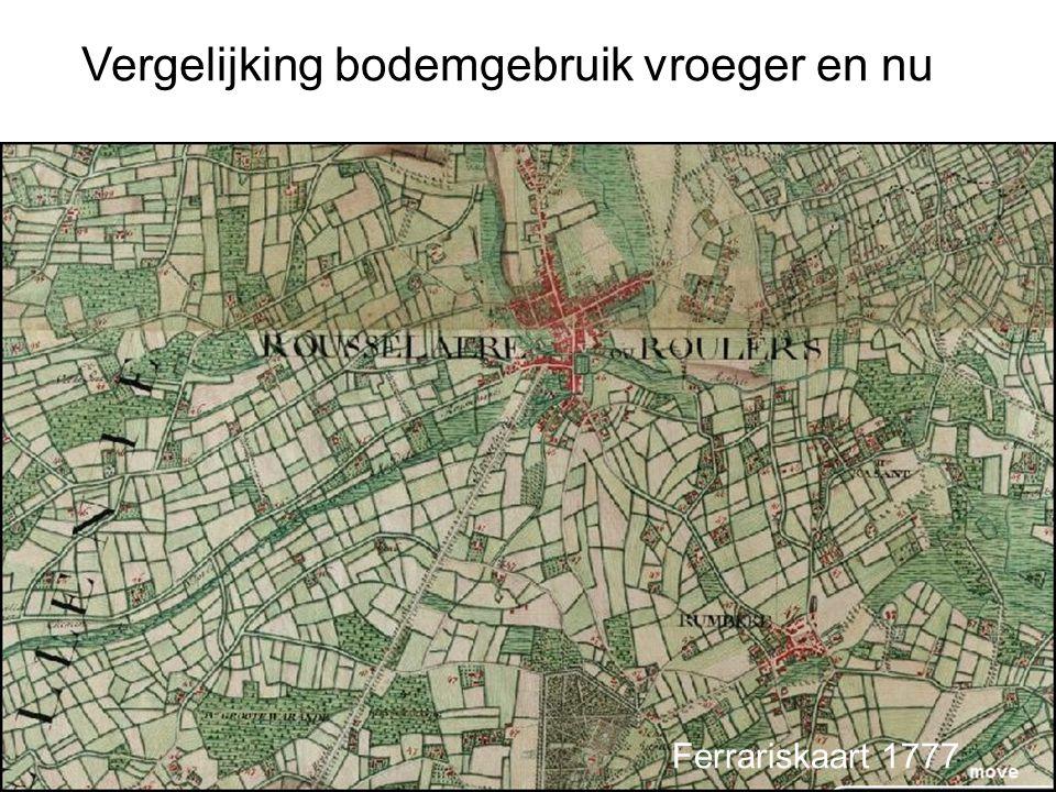 Bodemgebruikskaart van Roeselare