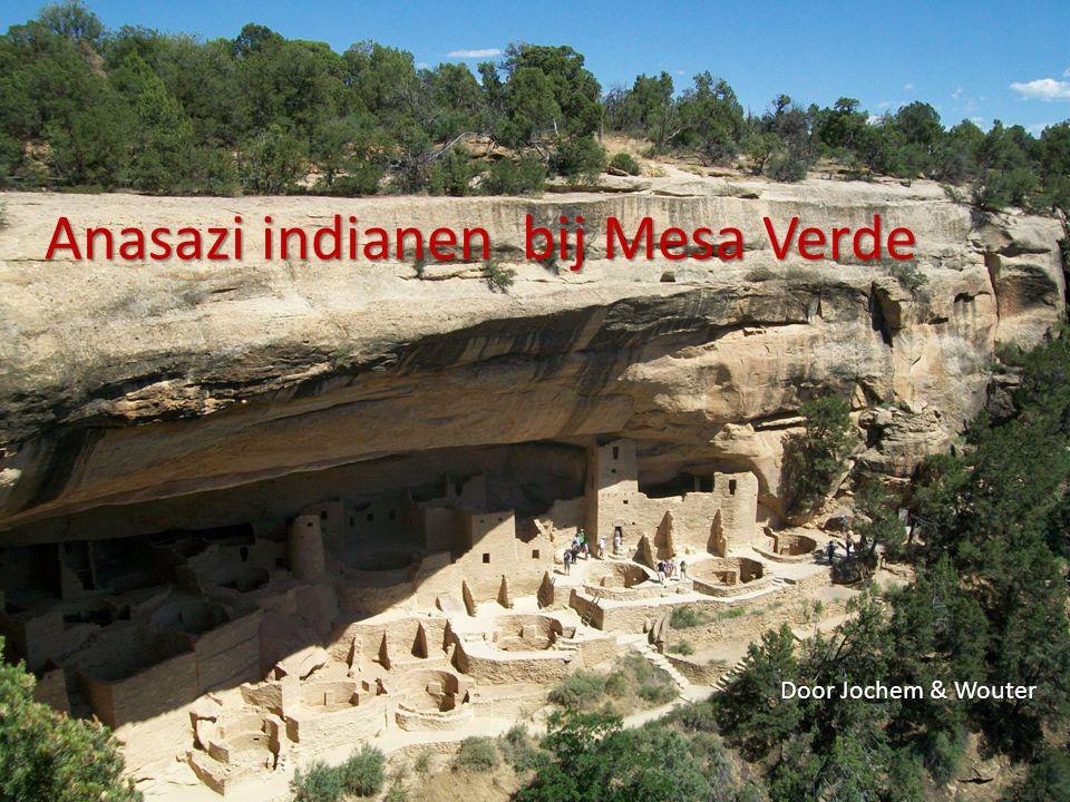 Anasazi indianen bij Mesa Verde Door Jochem & Wouter