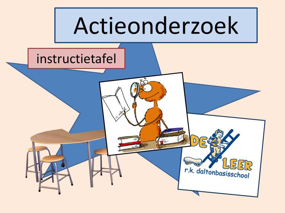 Onderzoeksresultaten en ontwikkelpunten Welke voor- en nadelen heeft het werken aan de instructietafel voor zowel de leerkracht als de leerling.