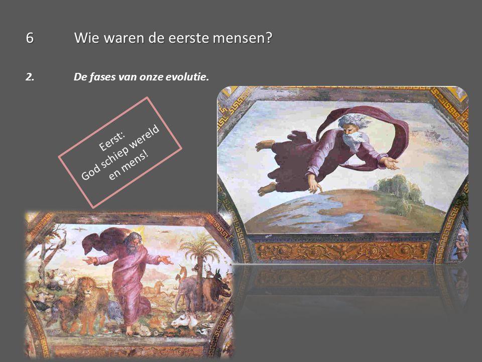 6Wie waren de eerste mensen? Agenda: Les 6: Wie waren de eerste mensen? HB p. 18-19 WB p. 14-15