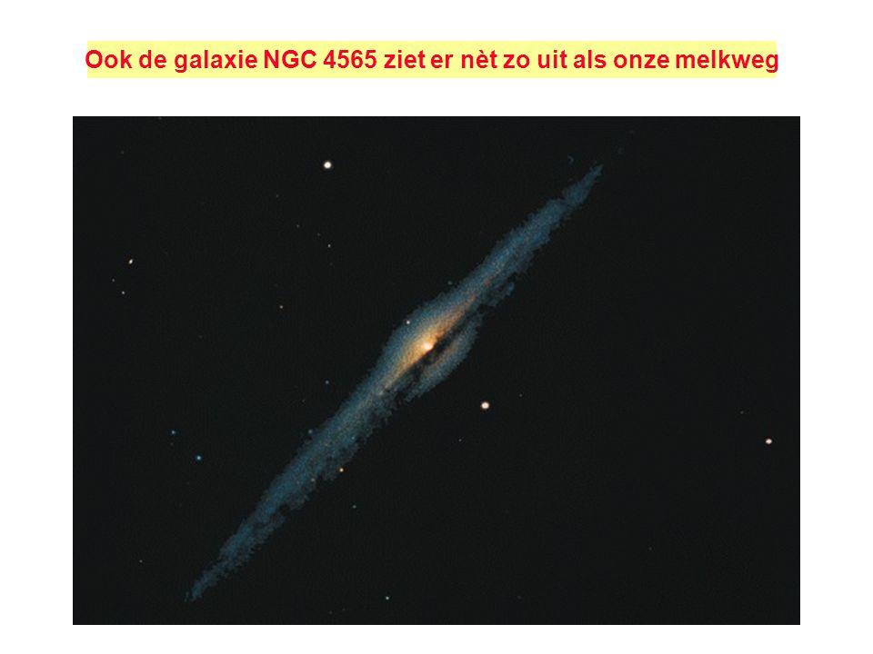Als het universum uitdijt wordt de golflengte van de stralende fotonen uitgerokken: Dit is de kosmologische roodverschuiving