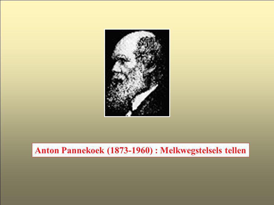 Immanuel Kant (1724-1804) 1781: Kritiek van het zuivere verstand 1755: Het universum ontstond uit een roterende nevel.