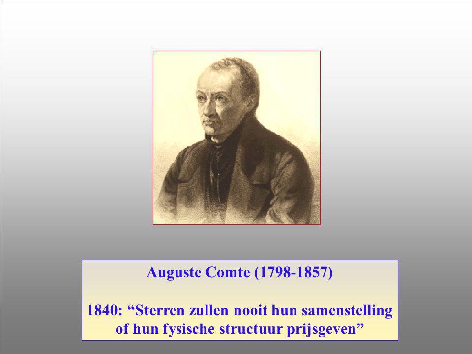 Joseph Fraunhofer (1787-1829) 1814: Solar spectrum