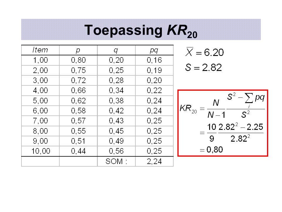 Toepassing KR 20