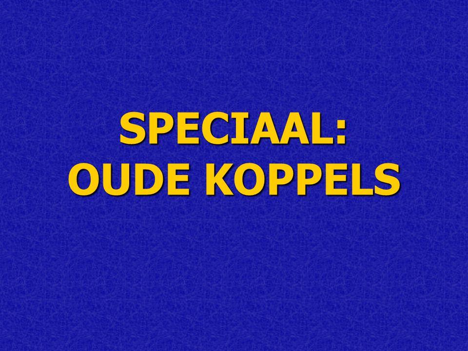 SPECIAAL: OUDE KOPPELS