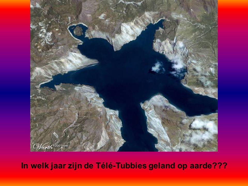 In welk jaar zijn de Télé-Tubbies geland op aarde???