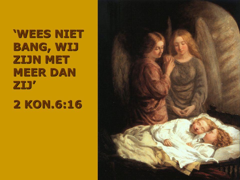 'WEES NIET BANG, WIJ ZIJN MET MEER DAN ZIJ' 2 KON.6:16
