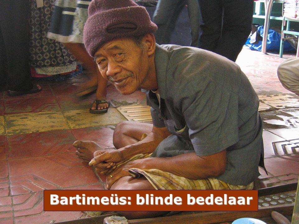 Bartimeüs: blinde bedelaar