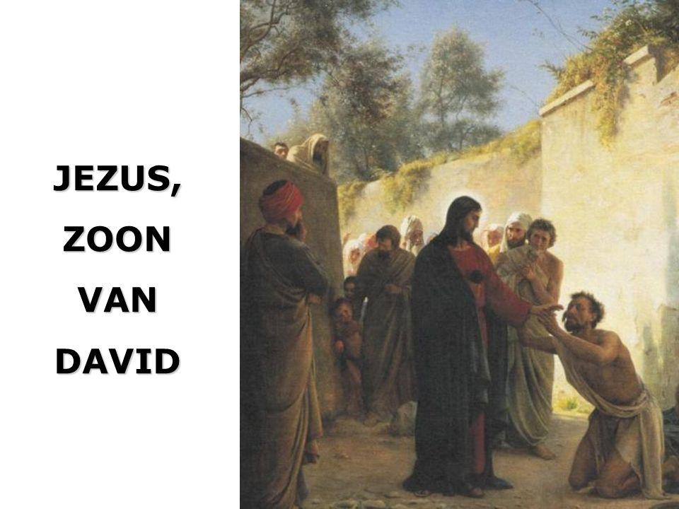 JEZUS,ZOONVANDAVID