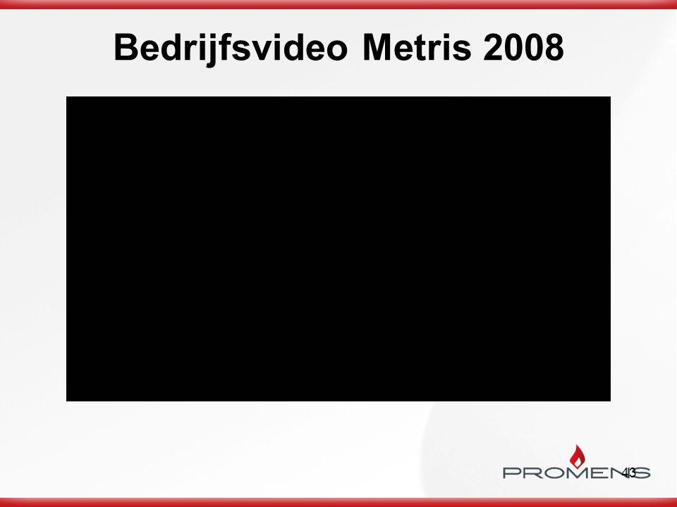 43 Bedrijfsvideo Metris 2008