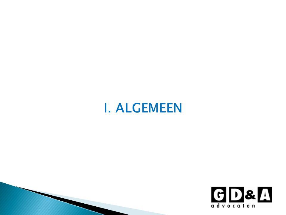 I. ALGEMEEN